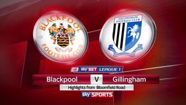 Blackpool 1-0 Gillingham