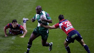 Topsy Ojo will hope to mark 250th Exiles appearance with victory over Worcester at the Madejski Stadium