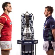 Sam Warburton and Greig Laidlaw go head-to-head in Cardiff on Saturday