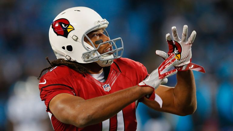 Larry Fitzgerald hauled in his 1,200th career catch for the Cardinals