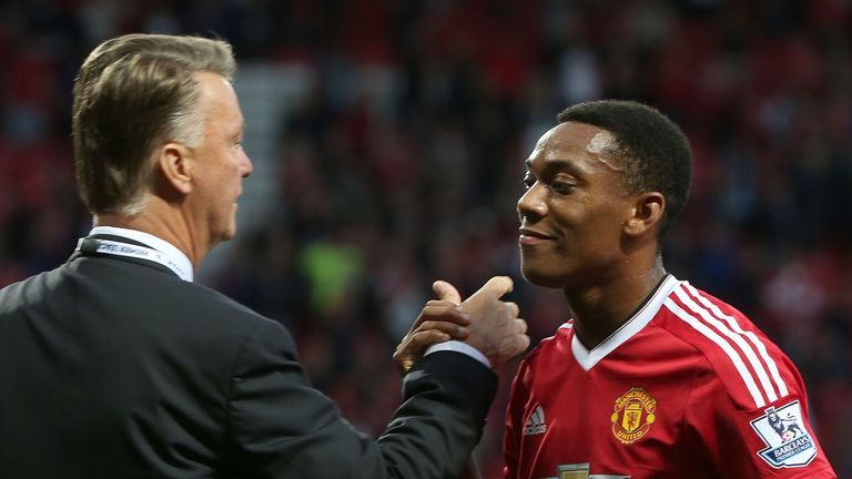 Anthony Martial could be set for a change of role now Rooney is out