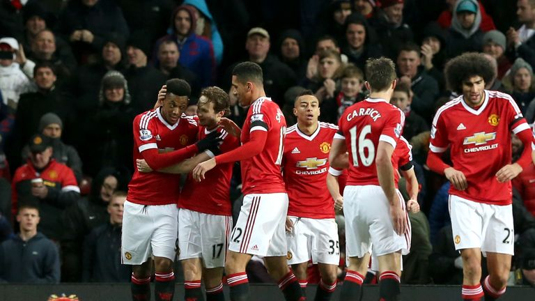 United have enjoyed an upturn in form in 2016