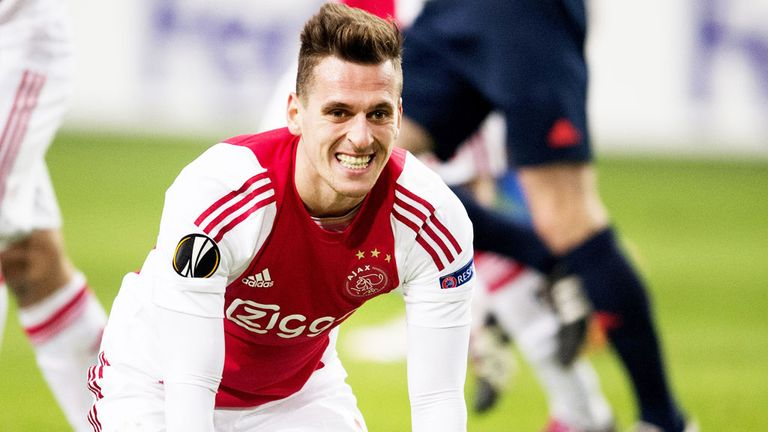 Arek Milik took his tally to 14 goals for the season in the win over Excelsior