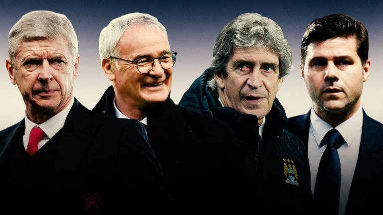 Which manager will come out on top in the race for the Premier League title?