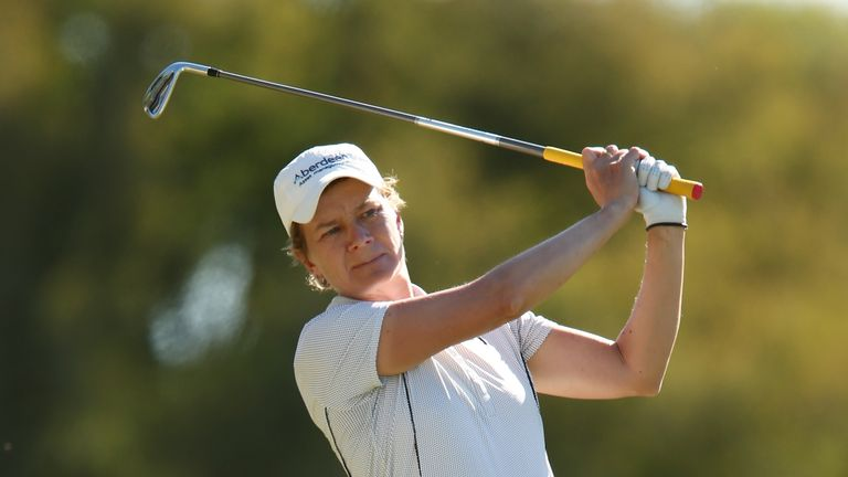 Matthew is one of many Europeans playing for a Solheim Cup place this week