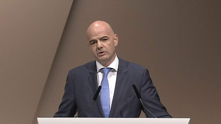 Gianni Infantino: We have taken a really historic decision for football