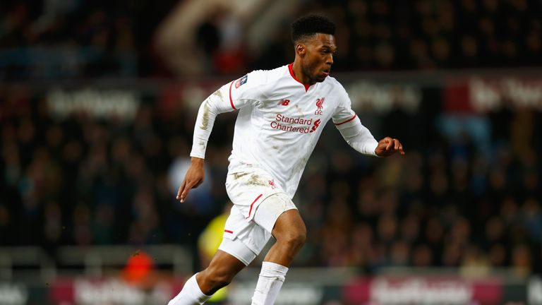 Daniel Sturridge: Set to return to the Liverpool team for the visit of Manchester United