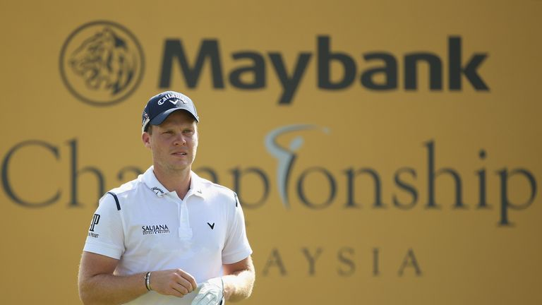 Danny Willett battled fatigue and is five shots off the pace