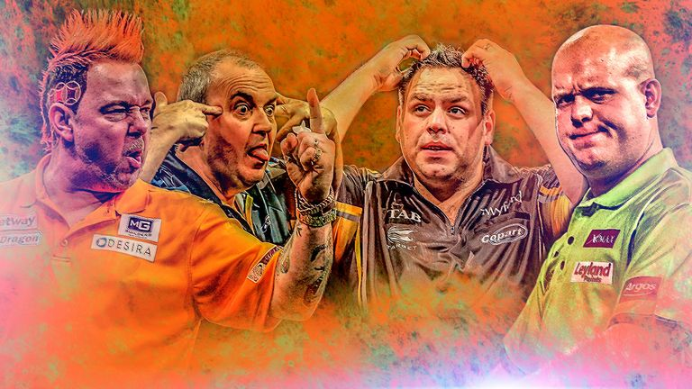 Phil Taylor Faces Adrian Lewis And Michael Van Gerwen Will