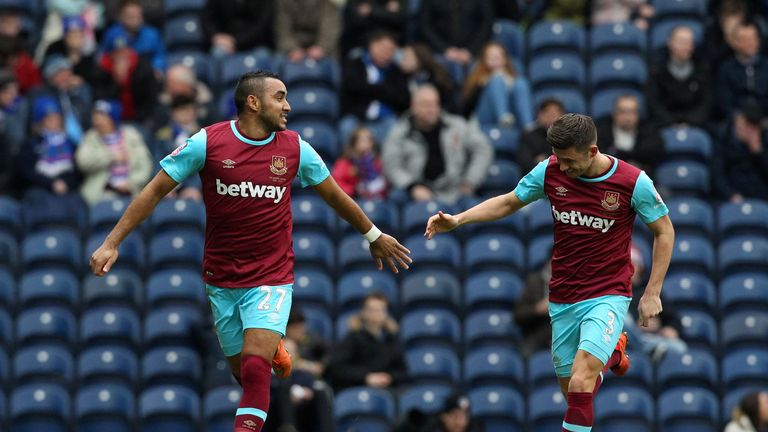 Payet completed the scoring late on for West Ham