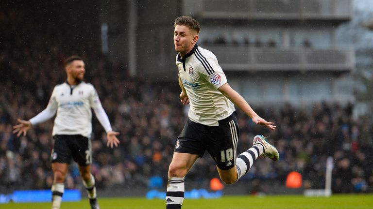Cairney netted a double at Craven Cottage