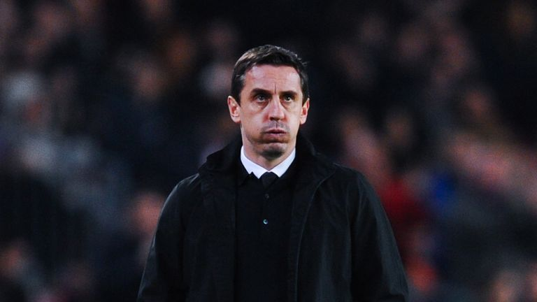 Gary Neville is still without a league victory at Valencia