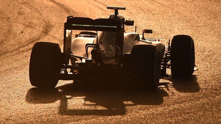 World champion Hamilton completes his day's work