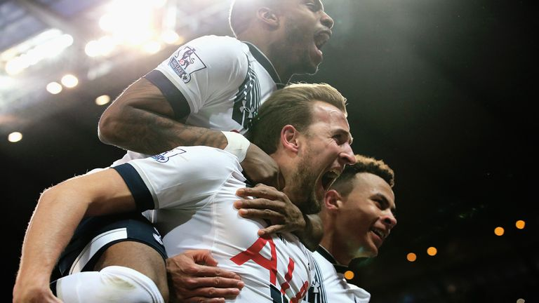 Tottenham are flying high in the Premier League after beating Man City