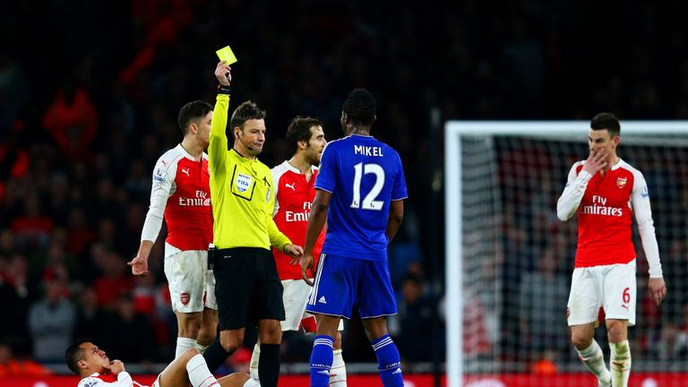 Midfield enforcer? Mikel has a habit of making life difficult for opponents
