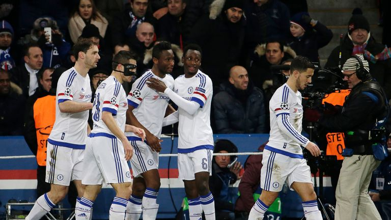 Mikel equalised for Chelsea in first-half stoppage time