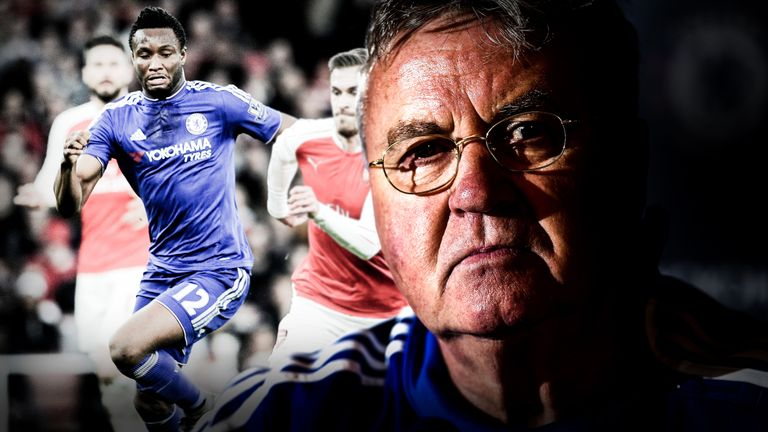 Chelsea midfielder John Obi Mikel has thrived under Guus Hiddink