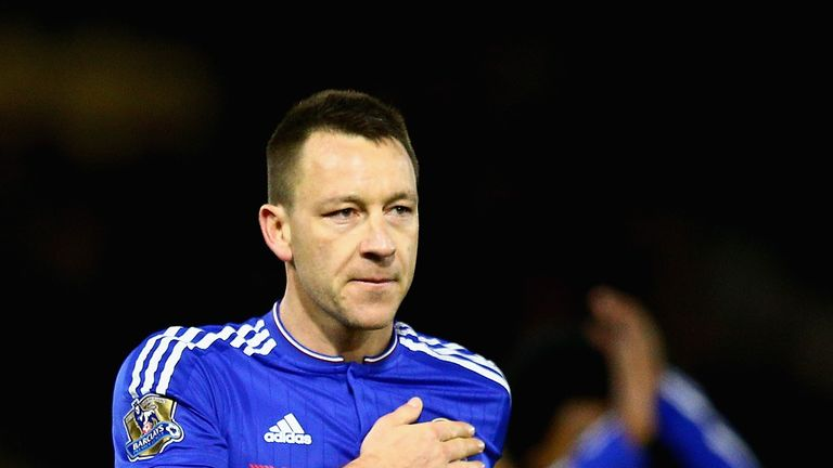 John Terry has been told there is not currently a new Chelsea contract on offer