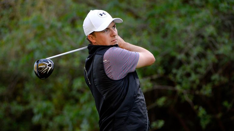 Jordan Spieth responded well after a poor opening-round 79