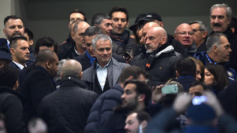 Mourinho's priority is to monitor events at Man Utd rather than commit to PSG