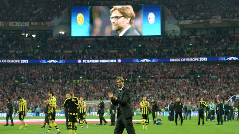 Jurgen Klopp's previous Wembley experience ended in Champions League defeat