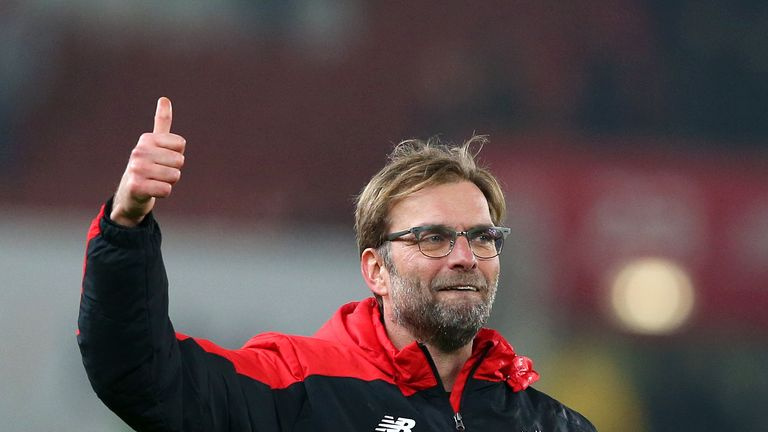 Klopp is looking to win his first trophy at Anfield less than five months after he arrived at the club