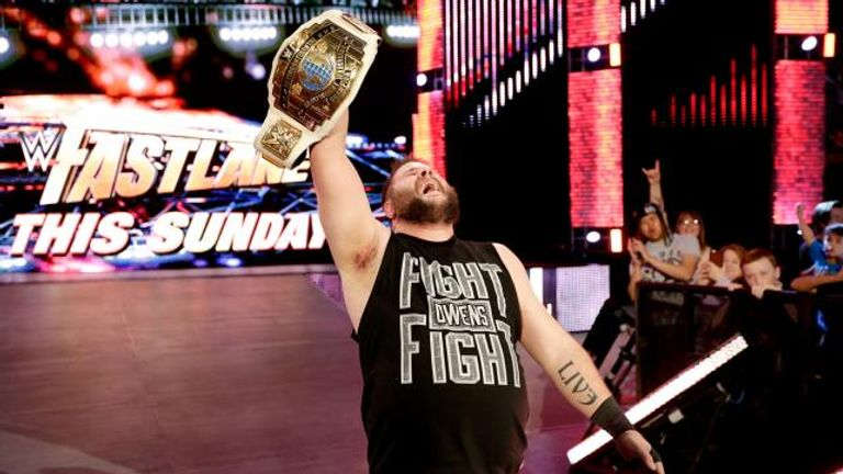 Kevin Owens is the new Intercontinental Champion