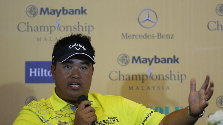 Kiradech Aphibarnrat plays his first tournament as a married man this week