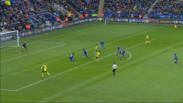 Was Wes Morgan's handball deliberate?