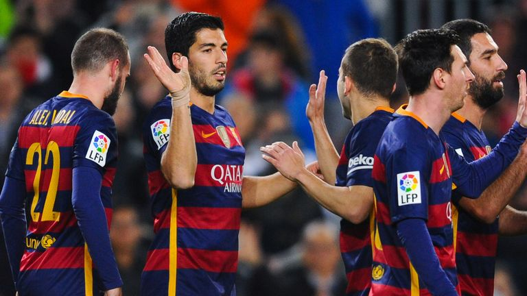 Barcelona lead Valencia 7-0 from the first-leg of their Copa del Rey semi-final