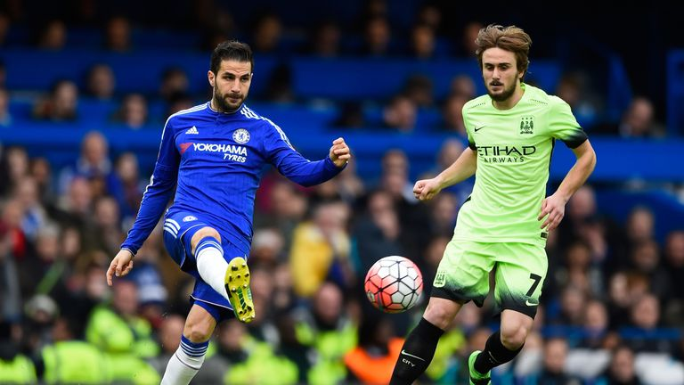 Cesc Fabregas was at the centre of most of Chelsea's impressive attacking play