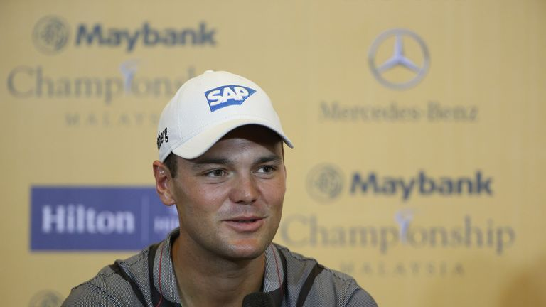 Kaymer spoke to the media ahead of the Maybank Championship Malaysia