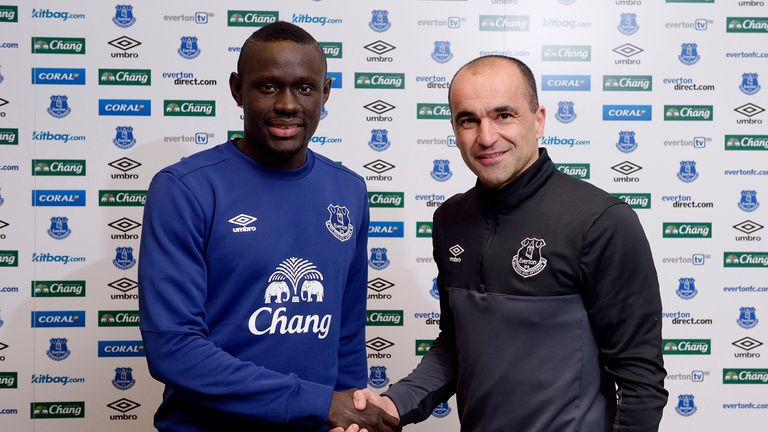 Oumar Niasse was one of several high-profile transfers that took Premier League spending over £1billion this season