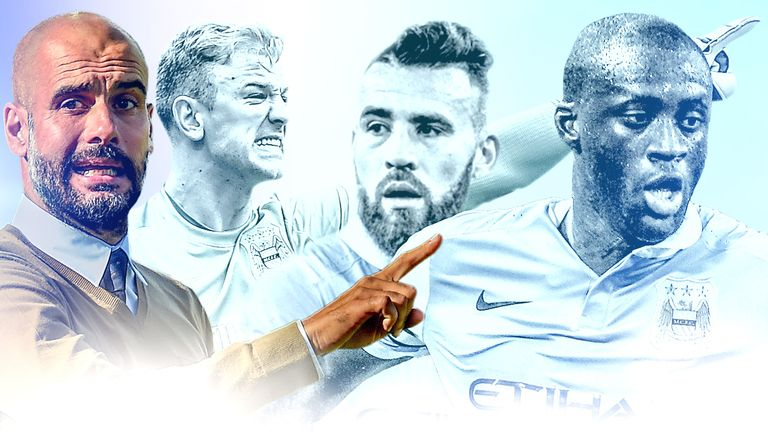 Which Manchester City players will Pep Guardiola keep at the club?