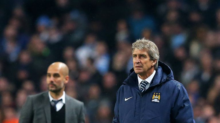 Manuel Pellegrini was City's second choice after Guardiola