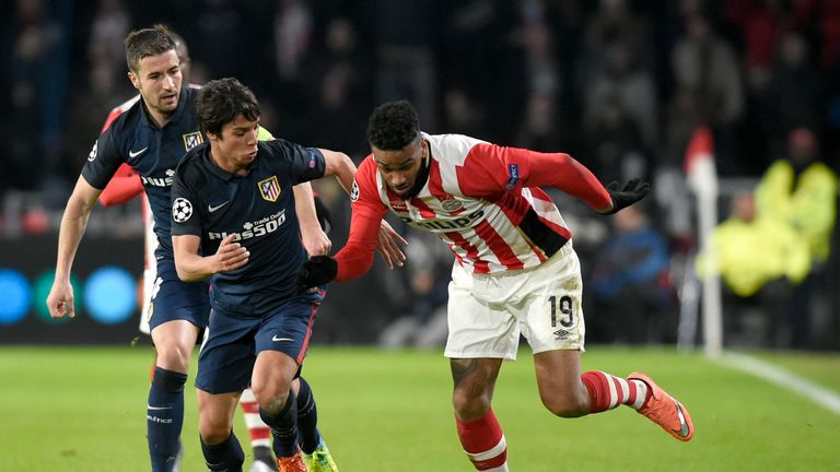 PSV and Atleti played out a goalless draw in their Champions League last-16 first-leg clash