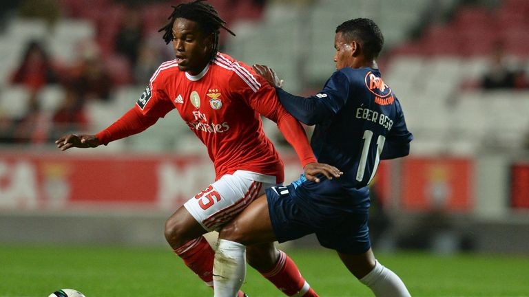Sanches is known for his strength in midfield