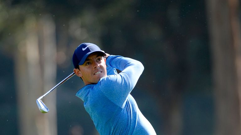 McIlroy was in good form for three days at Riviera before tumbling out of contention on Sunday