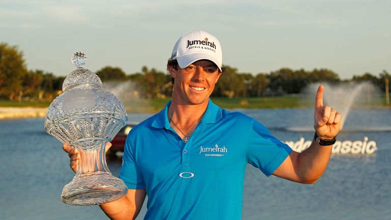 McIlroy is playing in the event for the eighth year in a row, with his victory at Palm Gardens coming in 2012