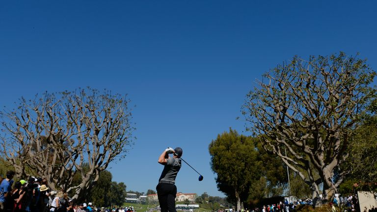 McIlroy finished nine strokes adrift of Bubba Watson at Riviera