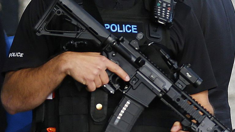 Armed police will be on duty at Wimbledon