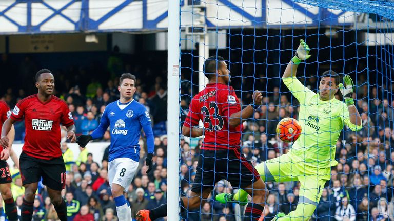 Everton were beaten 1-0 by West Brom in their last Premier League outing