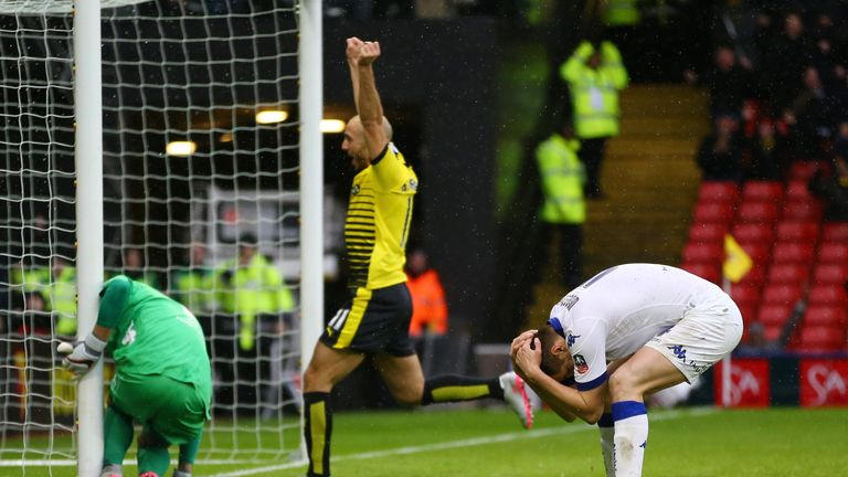 Scott Wootton's own-goal handed Watford victory in their fifth-round tie against Leeds