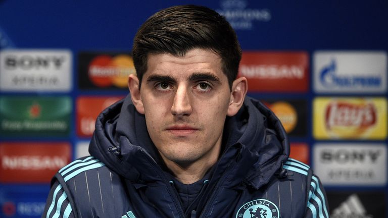 Thibaut Courtois says Chelsea had a poor pre-season