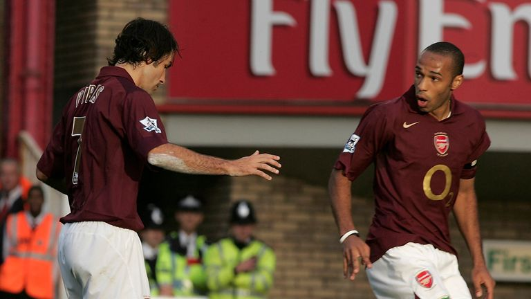 Robert Pires and Thierry Henry famously tried and failed with a similar penalty
