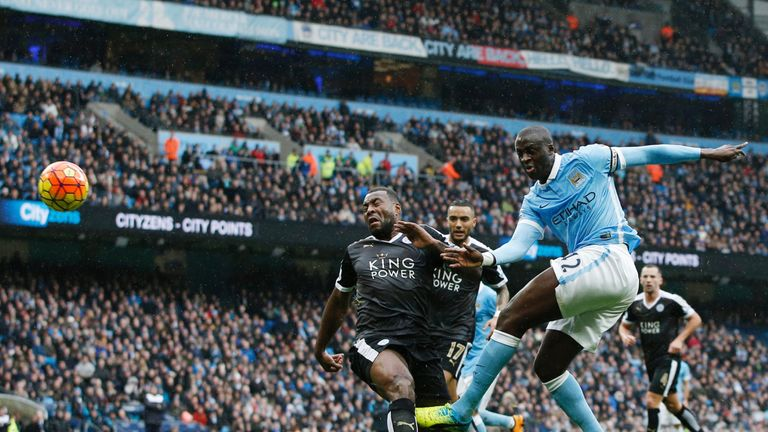 Manchester City struggled to break down Leicester despite a lot of possession