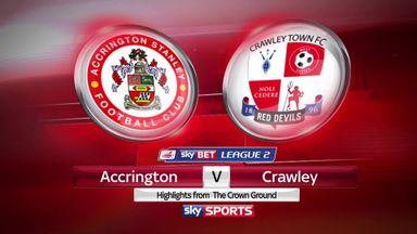 Accrington 4-1 Crawley