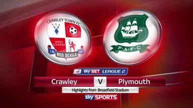 Crawley 1-1 Plymouth