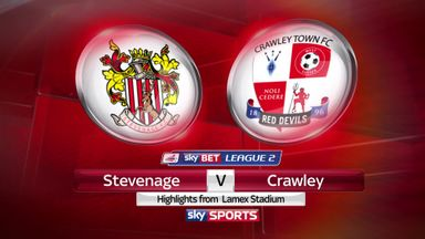 Stevenage 0-1 Crawley