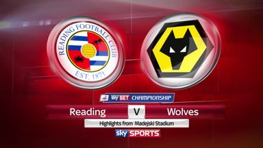 Reading 0-0 Wolves